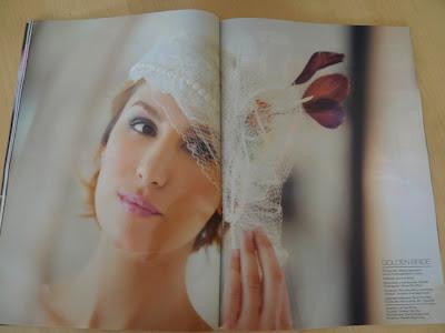 BQ Magazine. Especial Novias 2013 tocados de novia