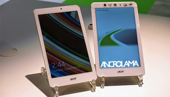 Acer Yeni Tabletilerini Duyurdu