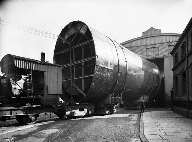 Grandes estructuras históricas en construcción Fotograf%25C3%25ADas+de+la+construcci%25C3%25B3n+del+Titanic+24