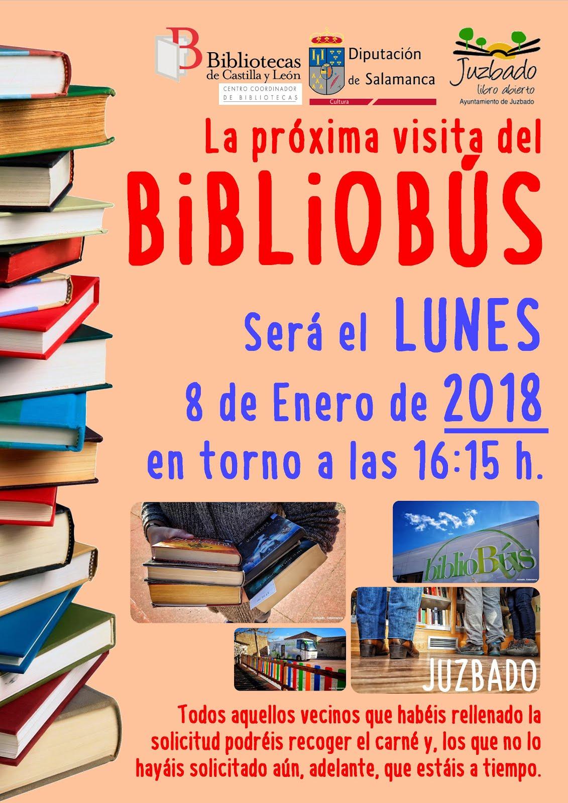 VISITA DEL BIBLIOBÚS 2018