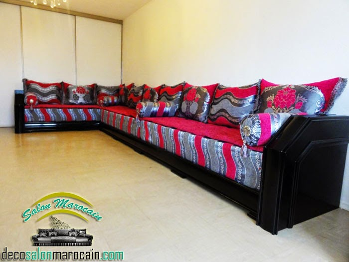 boutique salon marocain 2018 2019 tissu salon marocain. Black Bedroom Furniture Sets. Home Design Ideas