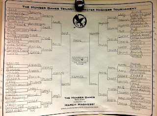 Hunger Games Character Bracket by Deanna B.