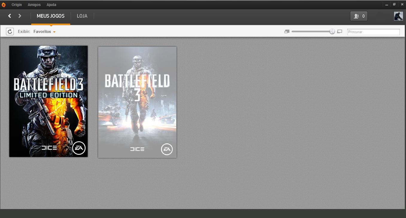 Mude seu equipamento diretamente pelo Battlelog Origin