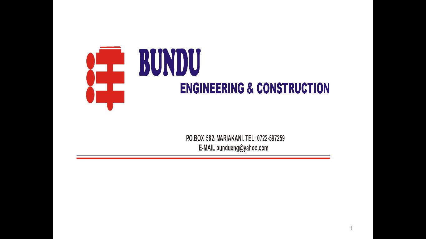 Bundu Engineering And Construction Company