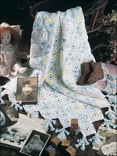 вязанные детские одеяла