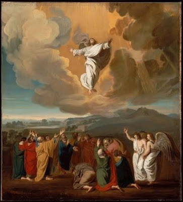 Jesus Christ Ascension to Heaven Picture