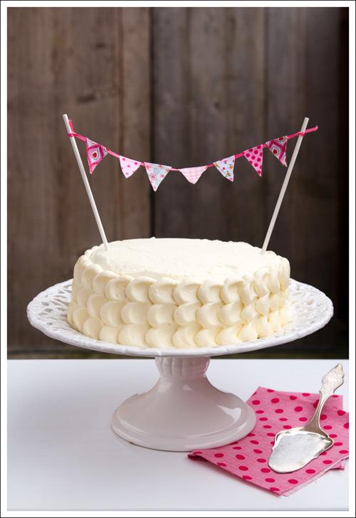 Berry Lovely Lemon Celebration Cake for my 100th post