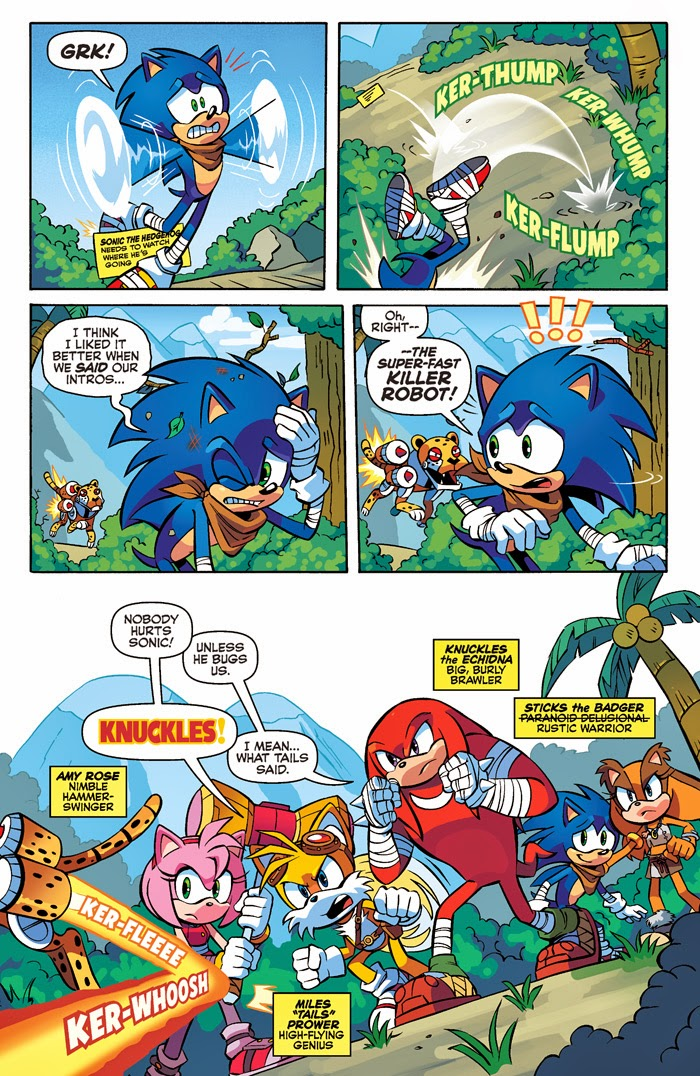 PREVIEW: 'Sonic Boom' #6 by Ryan Jampole, Jennifer ...