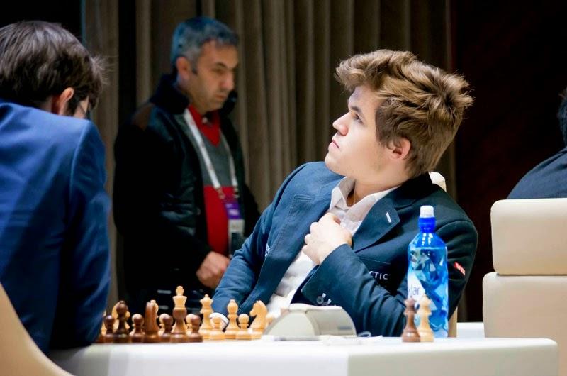 Shamkir Chess 2015. Magnus Carlsen