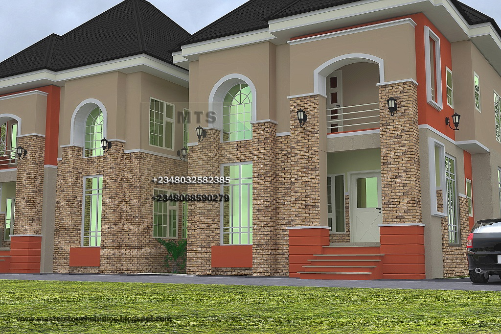 2 bedroom twin duplex residential homes and public designs for Latest architectural design