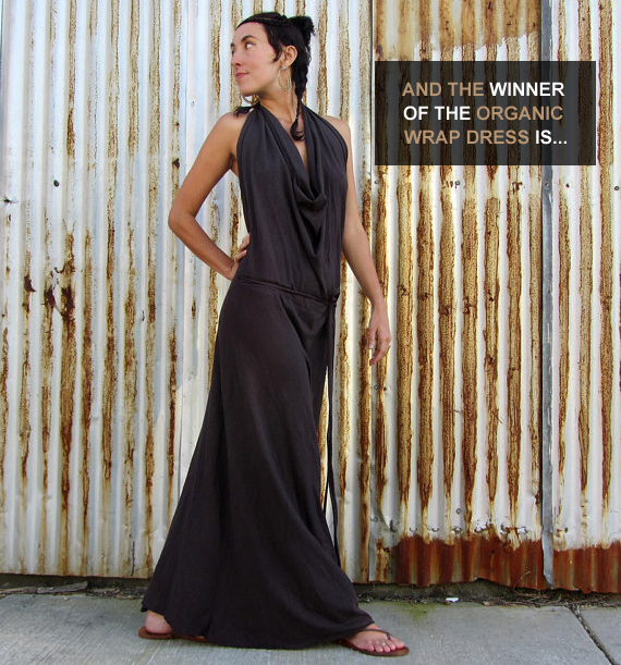 Gaia Conceptions Organic Dress Giveaway WINNER!