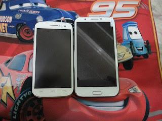 MyPhone A919i vs SKK Mobile Silver
