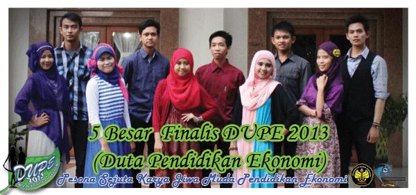 5 besar finalis DUPE 2013!  (FINAL)