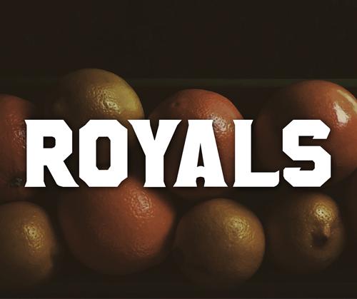 Font Commercial Gratis Terbaru Untuk Desainer Grafis - Royals Free Font