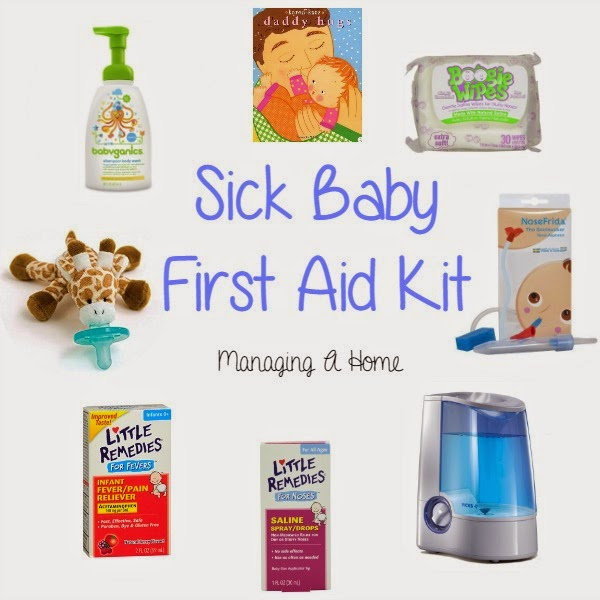 Sick Baby First Aid Kit