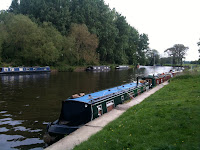 Our mooring at Sonning