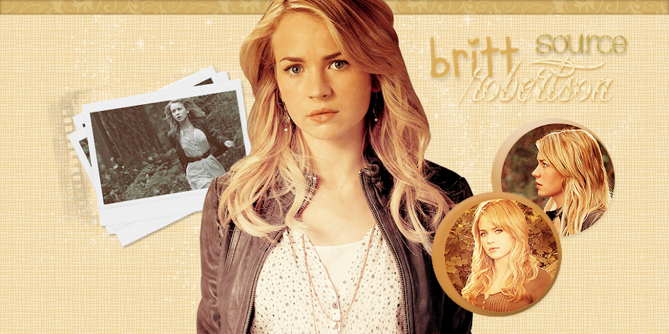 Britt Robertson ♥ {source}