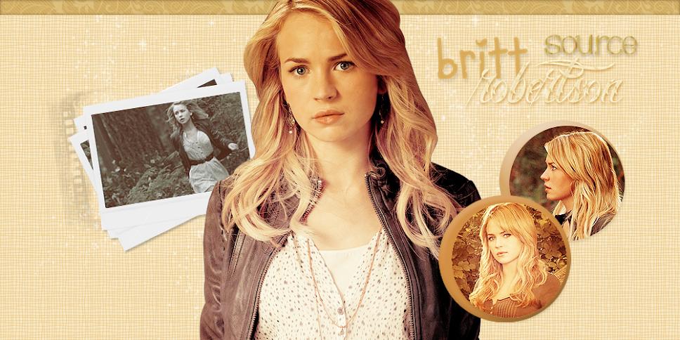 Britt Robertson ♥ {source}