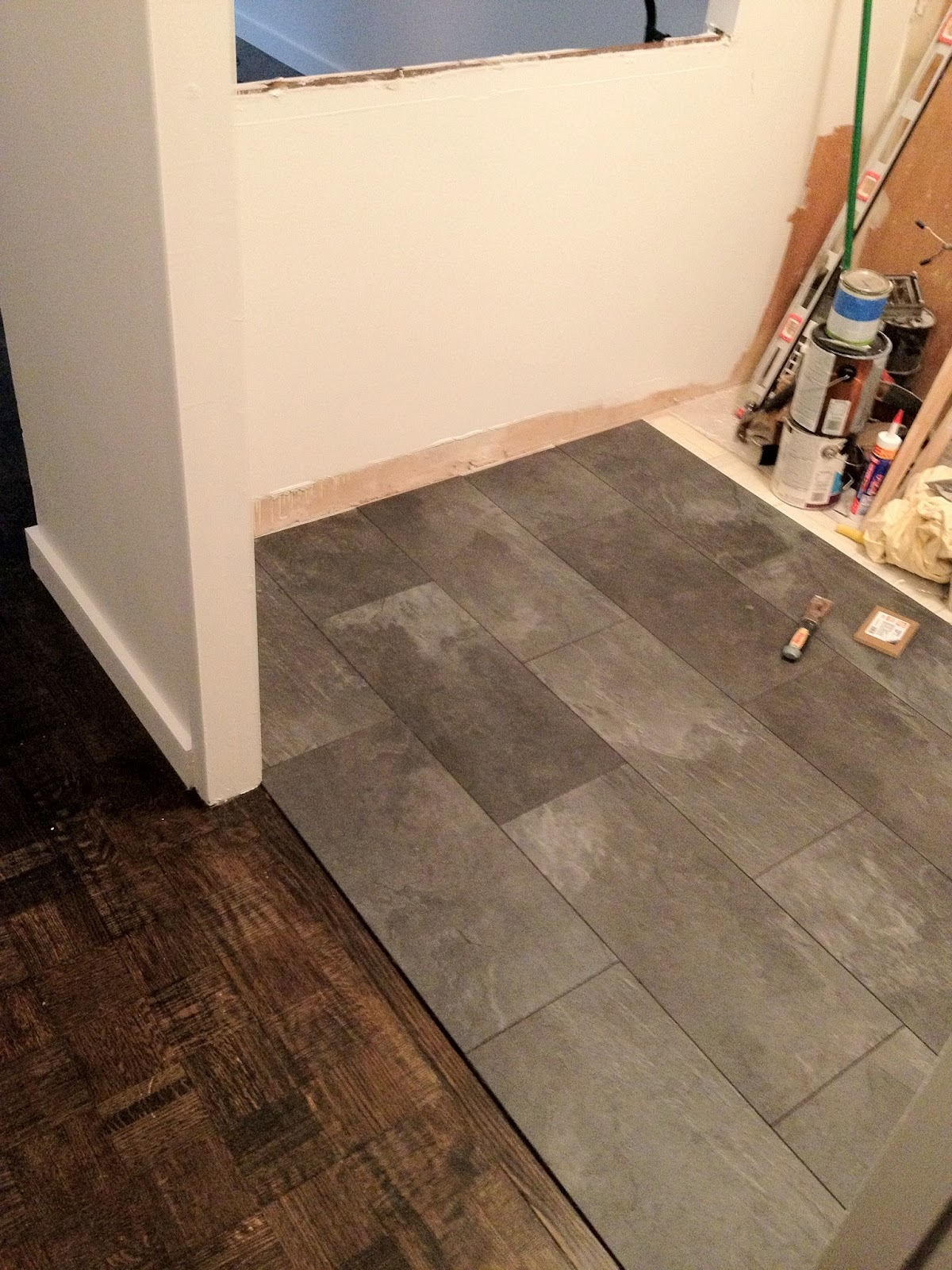 The magic geranium kitchen floor for Kitchen laminate flooring