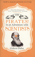 Paperback book cover of Pirates! in an Adventure with Scientists by Gideon Defoe