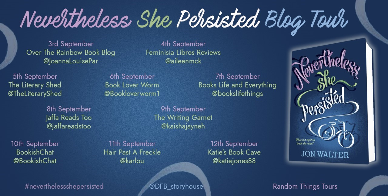 Nevertheless She Persisted Blog Tour