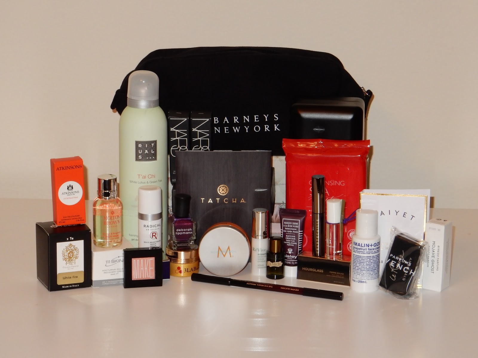 Barneys swag bag beauty event