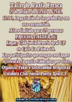 TALLER DE PASTA FRESCA EN EL CLUB SOCIAL PUERTO REAL C.F.