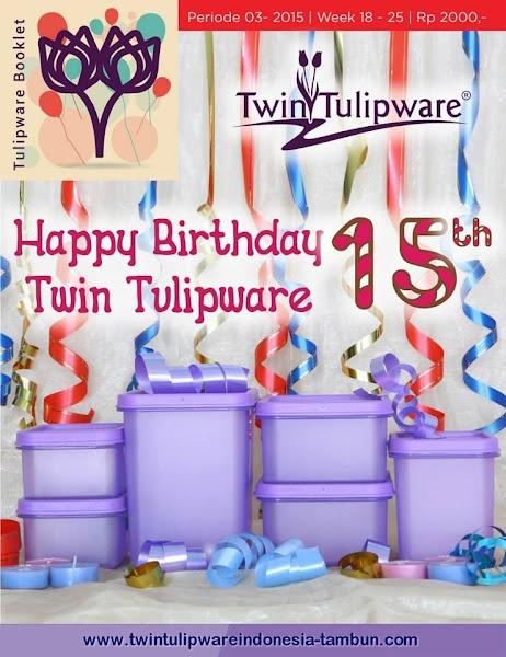 Booklet - Katalog Twin Tulipware Mei - Juni 2015