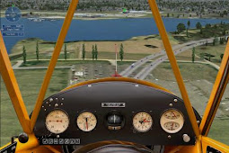 game microsoft flight - simulator penerbangan