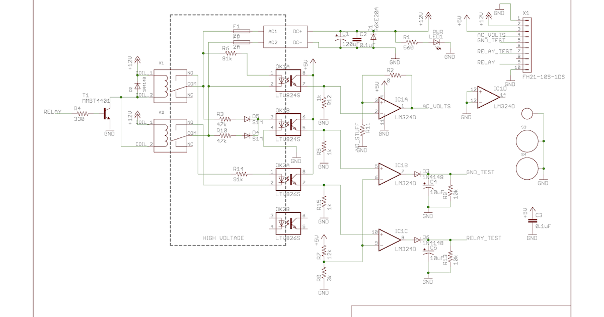 Geppetto Electronics Openevse Ii Design Progressrhgeppettoelectronics: Ac Contactor Wiring Diagram Geppetto Electronics December 2014 At Gmaili.net