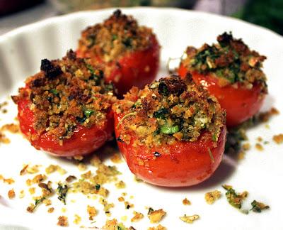 Oppskrift Grillede Tomater Topping Tapas