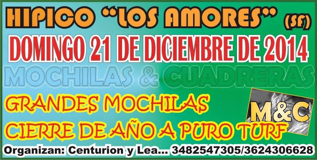 LOS AMORES - 21/12/14
