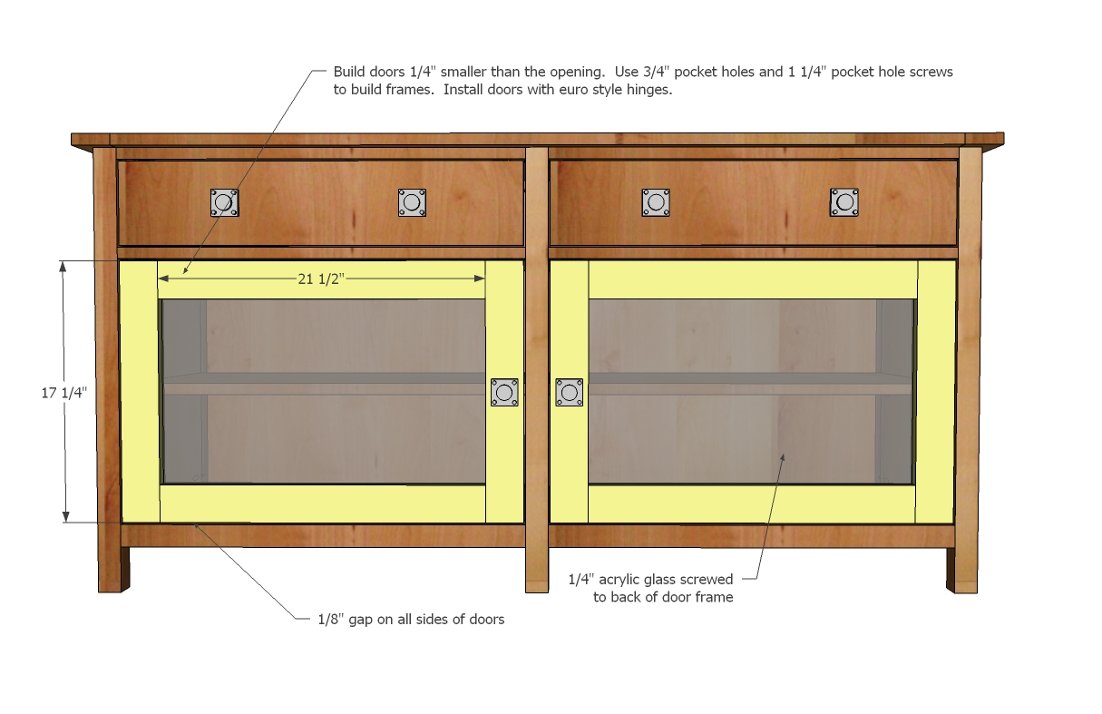 That S My Letter Diy Media Cabinet With Doors Amp Shelves