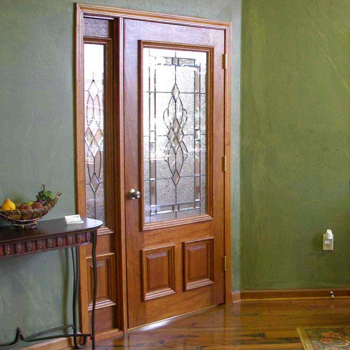 Model-Door-Minimalist-Home-Wood-Teak-Leaf-One