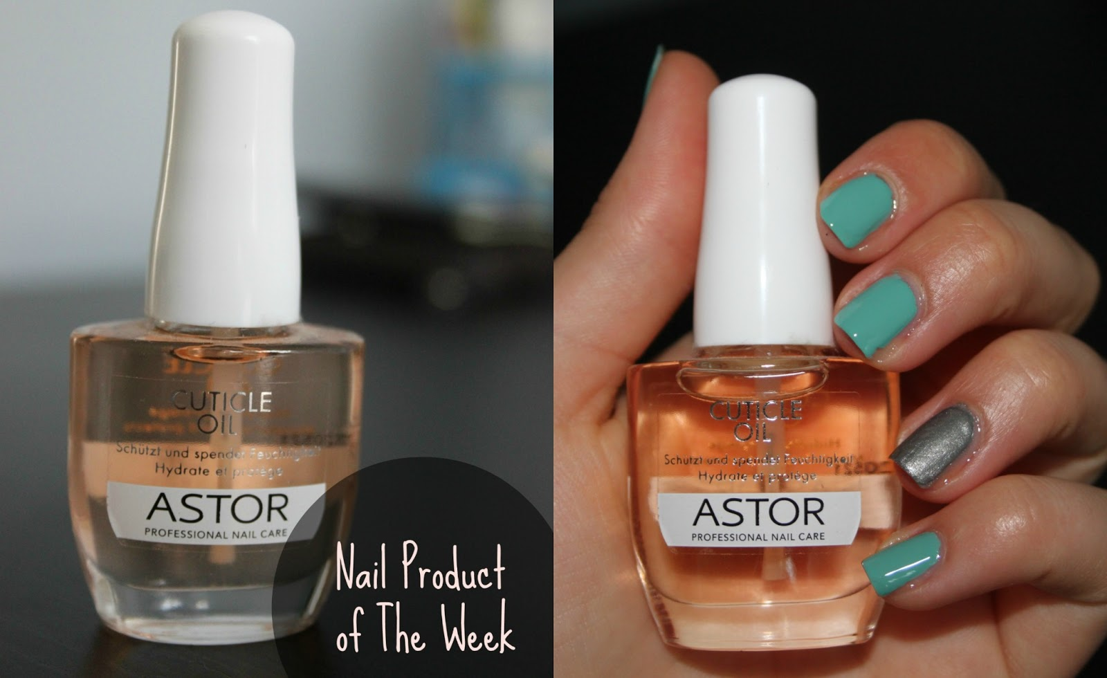 Catarina\'s Little Space: Nail Product of The Week | Cuticle Oil - Astor
