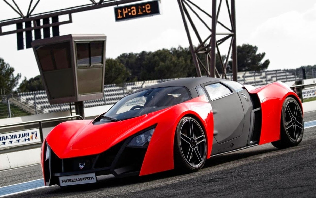 Marussia B2 Supercar Specification front