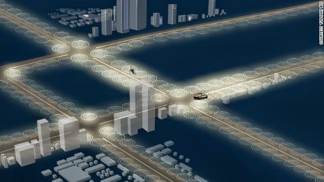 inteligent LED street lights pr smart led leghting