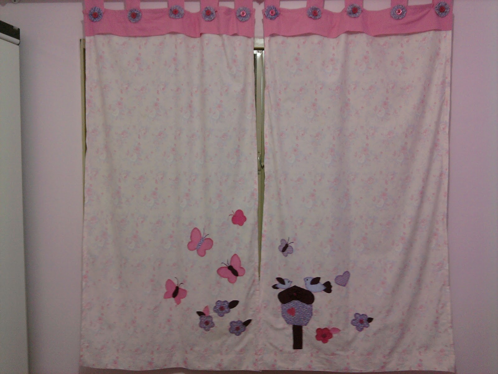 Ideias graciosas cortinas - Apliques para cortinas ...