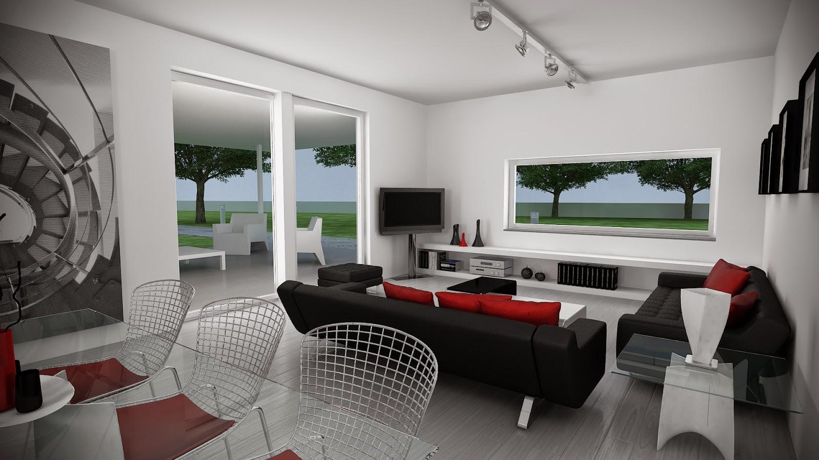 Salón modelo Z vivienda Resan Modular