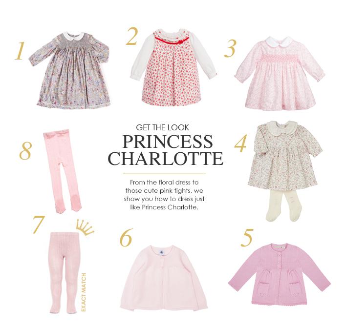 Princess Charlotte Dresses