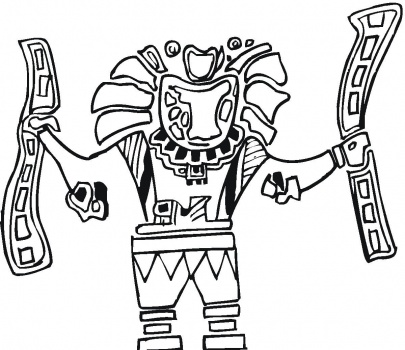 Ballet Folklorico Coloring Pages