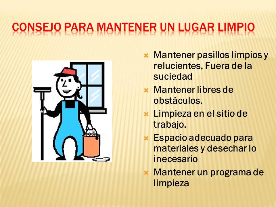 Seguridad y salud en el trabajo 2012 - Trabajo por horas de limpieza ...