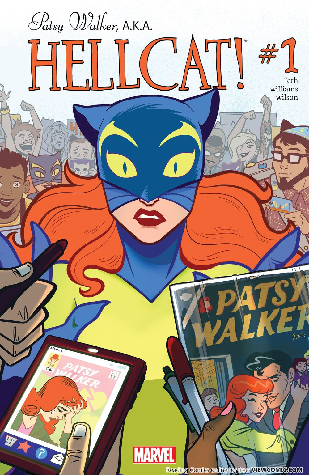 Patsy Walker, A.K.A. Hellcat