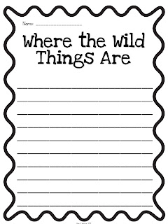 FREE Where the Wild Things Are Worksheet | teaching | Pinterest ...