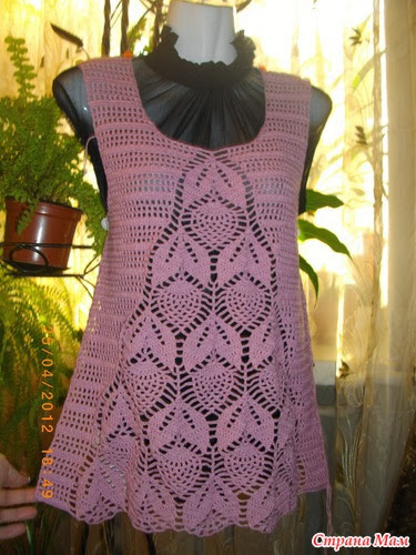 crochet beauty dress and top for women