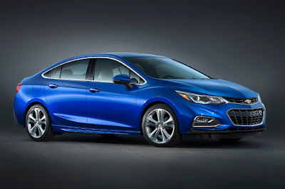 Chevrolet Cruze (2016 North American Spec) Front Side