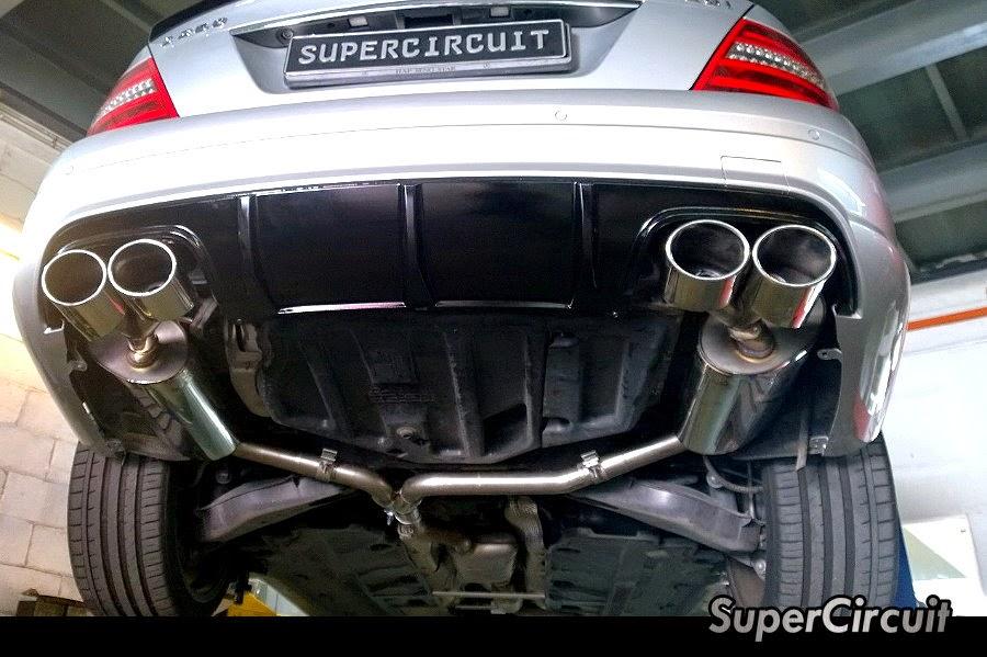 Supercircuit exhaust pro shop mercedes benz c250 w204 for Mercedes benz c300 exhaust