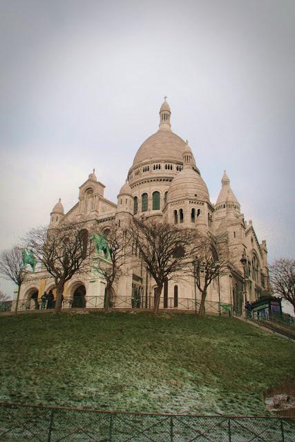 Igreja de Sacre-Couer em Montmartre, Paris