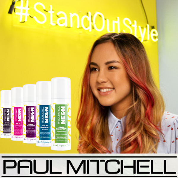 NEW! Paul Mitchell Neon Temporary Color Sprays