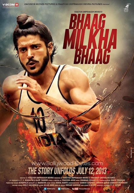 First Look Poster : Bhaag Milkha Bhaag - Farhan Akhtar